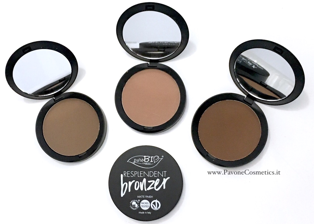 www.PavoneCosmetics.it bronzer purobio
