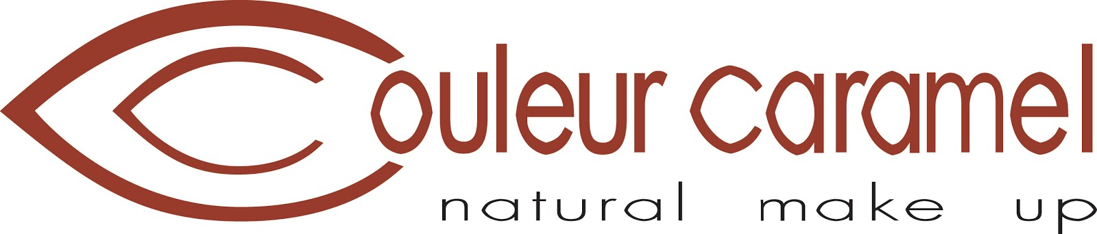 logo Couleur Caramel natural make upl